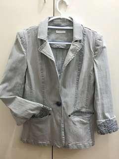 Soft Denim Blazer/Jacket