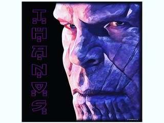 Thanos : Infinity War Pop Art Poster Frame