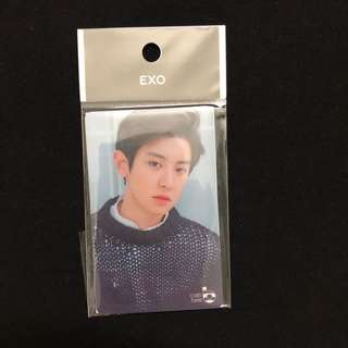 Exo chanyeol cashbee card