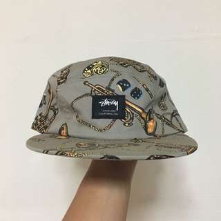 Stussy 5 panel camp volley cap hat