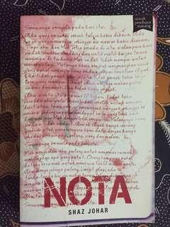 Buku Fixi : Nota