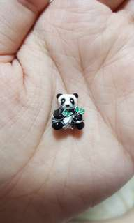 Code SS765 - Panda 100% 925 Sterling Silver Charm, Chain Is Not Included, Compatible With Pandora