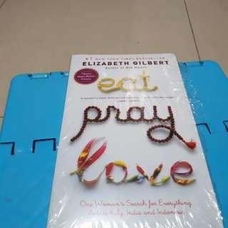 Eat pray love *Elisabeth gilbert*