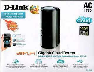 D-Link 4 Port Gigabit Wireless Router Dir 868L