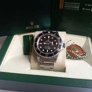 Rolex 16610 Submariner M頭888原裝砂