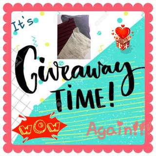 Giveaway Time Again💕💕💕