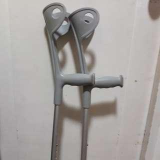 Ergonomic Elbow Crutches (rarely used)