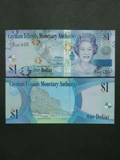 Cayman Islands 1 Dollar 🇵🇳 !!!