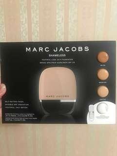 Marc Jacobs Shameless 24hr foundation samples