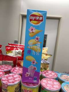 Lays 櫻花味薯片