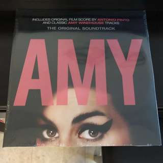 Amy Winehouse - Amy Soundtrack. Vinyl Lp. New