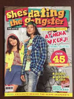 She's dating the Gangster: official bookazine