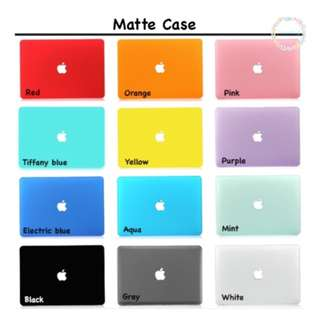 [PO] MACBOOK MATTE CASE / HARD CASE FREE DUSTPLUG