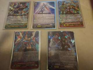 Vanguard GR RRR And Special Promo Card