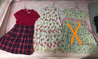 Girls' dresses Size 5-6/ 9-10 (Poney / JKids)