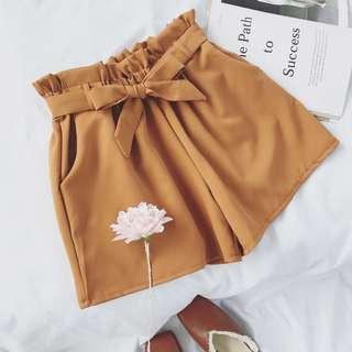 🚚 BN Paperbag ribbon shorts