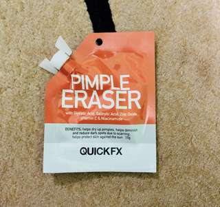 Pimple eraser