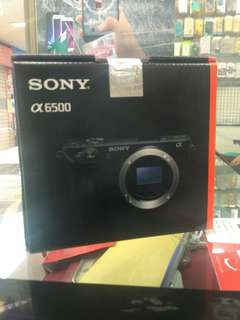 Kredit Sony A6500 Body Only Resmi