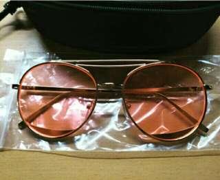 🚚 與全智賢同款的粉紅色墨鏡