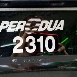 We do supply Sticker plate( Putrajaya, Peroduo, Proton & Etc). Please pm if you interested.