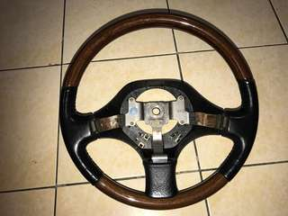 Daihatsu move walnut steering