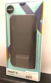 Bitplay Camera Case for iPhone X - Noir Black colour