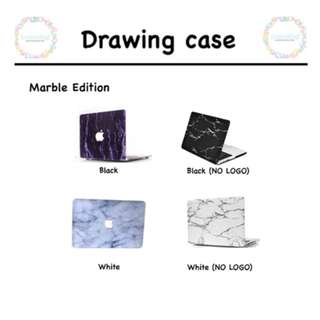 [ PO ] MACBOOK MARBLE CASE FREE DUSTPLUG