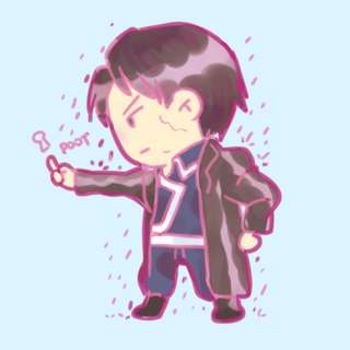 Roy Mustang Sticker