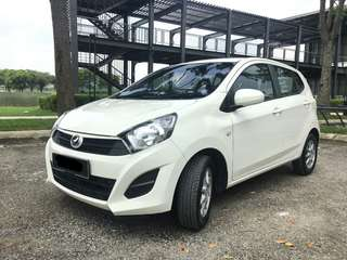 GRAB | WEEKLY | MONTHLY Perodua Axia Auto 2018