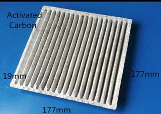 Car Air Con filter Activated Carbon for Mitsubishi Attrage