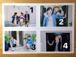 BTS SUMMER PACKAGE LOMO CARDS