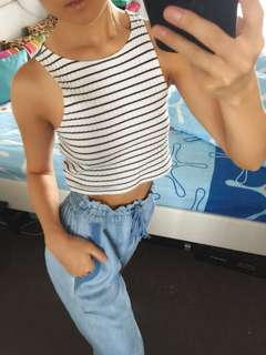 Forever New Crop Top, size 4-6