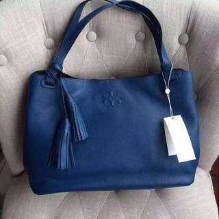 TORY BURCH Thea Centre-Zip Tote Authentic Bag 29