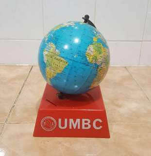 Antique UMBC coin bank