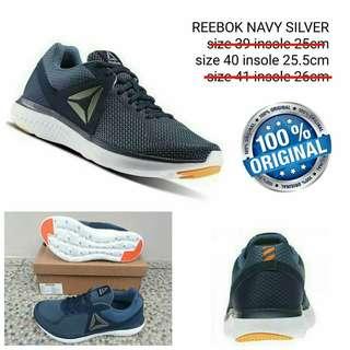 Sepatu Reebok Navy Silver