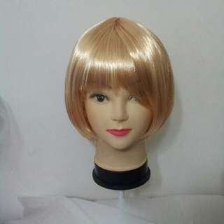 Light Blonde Party Wig