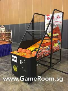 Arcade Basketball Machine Rental
