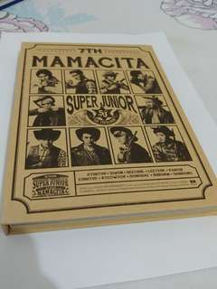 Super junior The 7th Album MAMACITA 淨專