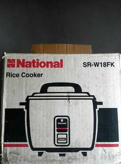 1970's. National Rice Cooker & Steamer  (Original box )