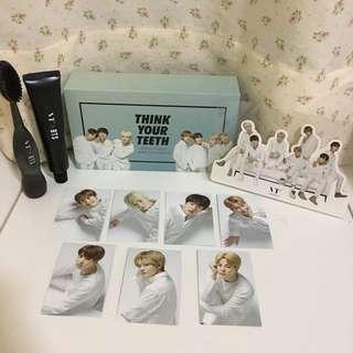 BTS x VT Original Jumbo Toothbrush Kit ( Black )