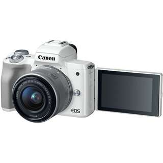 Canon EOS M50 Mirrorless with 15-45mm   Kredit Mudah