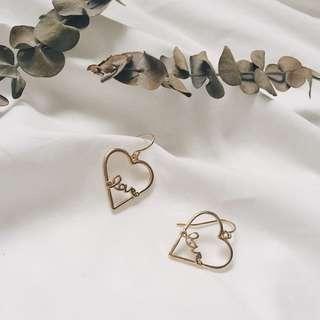 Rin Mini Heart Earring