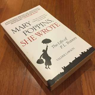 (Save $12, 60% Off) Mary Poppins, She Wrote : The Life of P. L. Travers (U.P. $20)