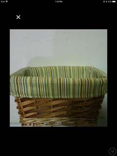 Basket for bicycle