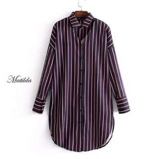 Matilda Shirt Dress. S-L