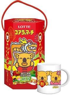 【預購】 樂天小熊六角禮盒