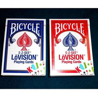 Bicycle EZ See LoVision Playing Cards