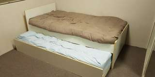 Bed Frame with Bottom Slide Out (no mattress) - Trundle Bed