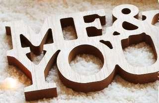 Me & You 7x13cm block