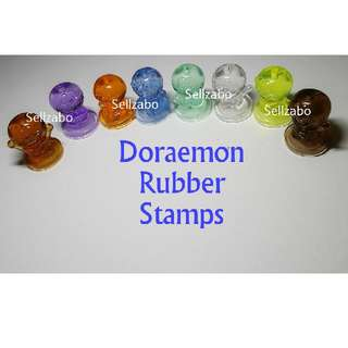1 Pc Doraemon Plastic Rubber Stamps Sellzabo